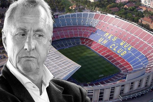 جماهير برشلونة تطالب بتغيير اسم ملعب