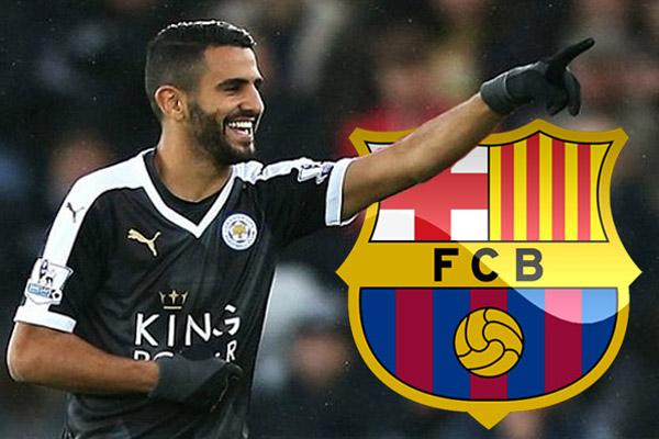 برشلونة يقترب من محرز