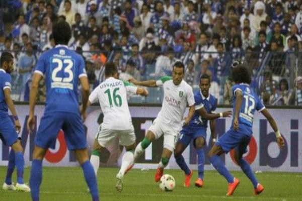 قمة حاسمة بين الاهلي والهلال في الدوري السعودي