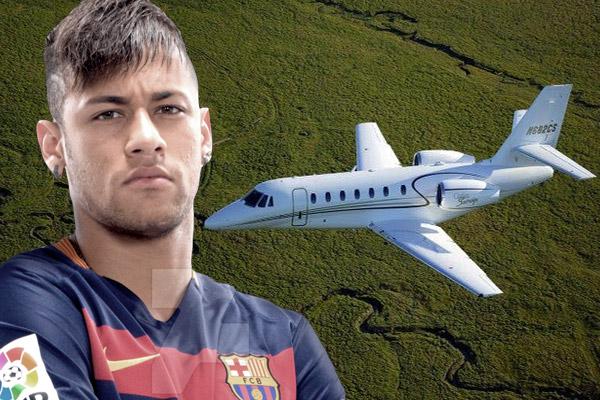 نيمار يشتري طائرة بـ 8 ملايين يورو