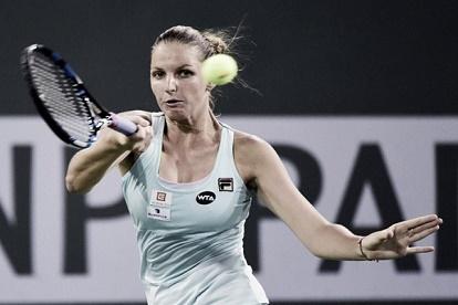 بليسكوفا تستهل حملة الدفاع عن لقبها في دورة براغ بنجاح