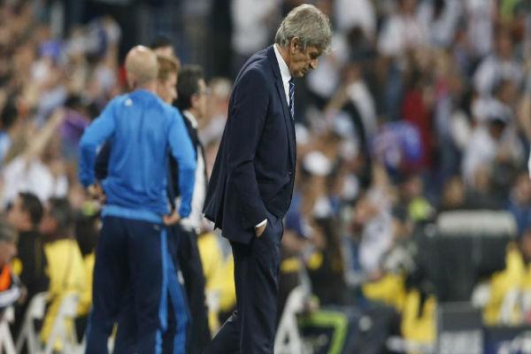 بيليغريني يرى بأن السيتي لم يستحق الخسارة أمام ريال مدريد