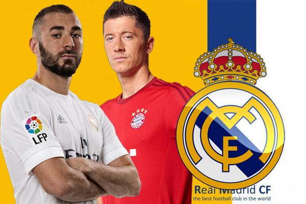 ريال مدريد يعرض بنزيمة للبيع من أجل التعاقد مع ليفاندوفسكي