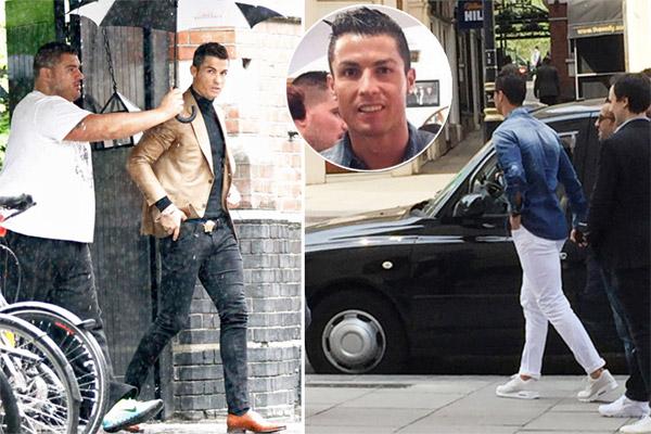كريستيانو رونالدو ظهر في لندن ظهر الثلاثاء