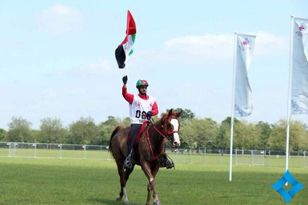 سيف المزروعي يهدي الإمارات لقب سباق ويندسور للقدرة