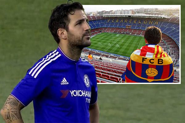 فابريغاس يغلق الباب أمام برشلونة