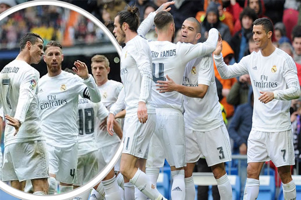 سلسلة انتصارات قياسية لريال مدريد في الليغا