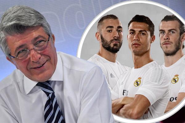 رئيس أتليتكو مدريد يبدأ الحرب النفسية قبل نهائي دوري أبطال أوروبا