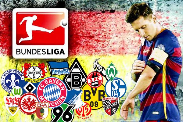 لاعبو الدوري الألماني يختارون ميسي كأفضل لاعب في العالم