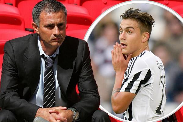 مورينيو اتصل بديبالا قبل تعيينه رسميا مدرباً لمانشستر يونايتد
