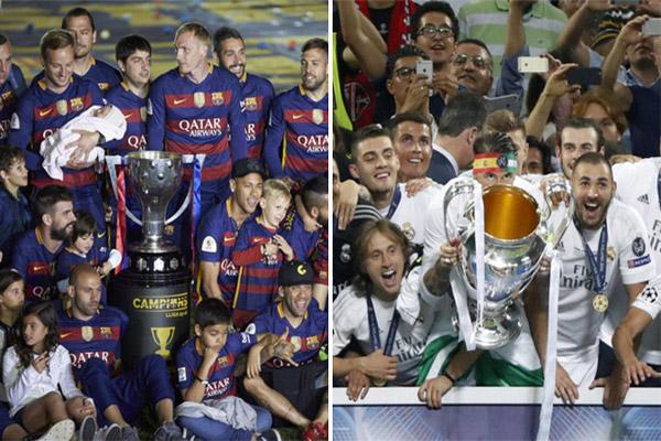 برشلونة بطولاته