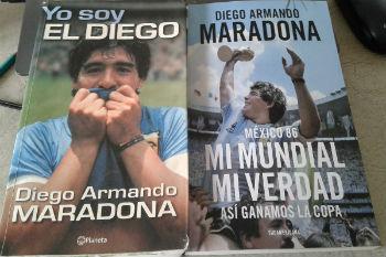 مارادونا يُدون ذكريات الفوز بمونديال المكسيك... في كتاب!