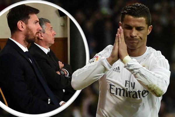 رونالدو أخبر مقربيه بأنه لو فعل ذلك لتم طرده من إسبانيا