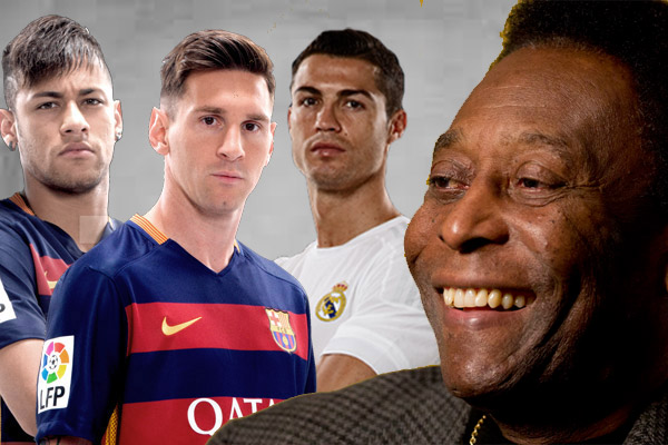 اختار البرغوث الأرجنتيني كأفضل لاعب في العالم على حساب رونالدو ونيمار