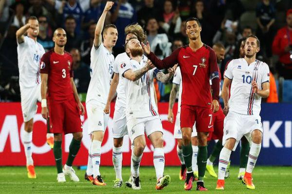 انتقادات آيسلندية لتصريحات كريستيانو المثيرة للجدل