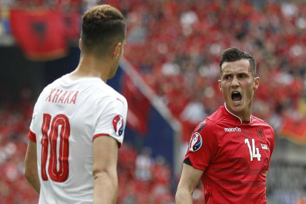 ألبانيا-سويسرا.. أكثر من مجرد مباراة إنها حكاية روابط عائلية
