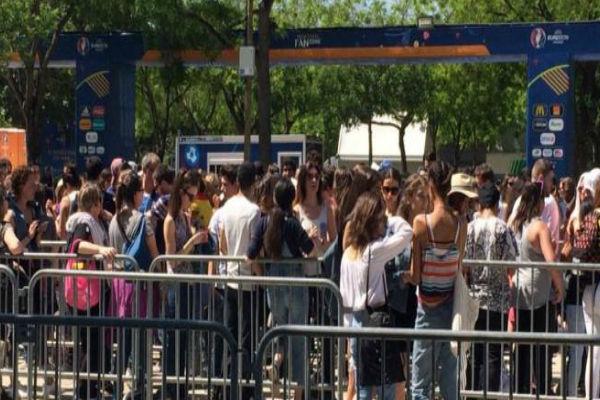 كأس أمم أوروبا: افتتاح أكبر منطقة للمشجعين قرب برج إيفل