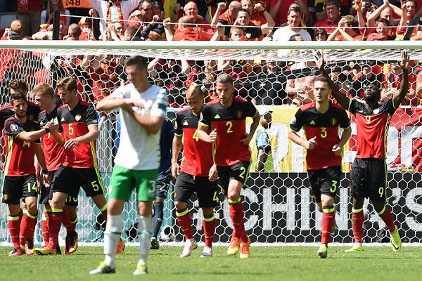 بلجيكا تعوض بثلاثية في مرمى ايرلندا