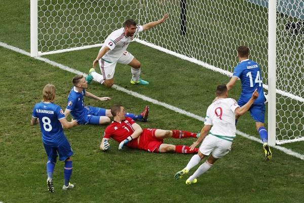 أيسلندا تهدر فوزاً تاريخياً أمام المجر