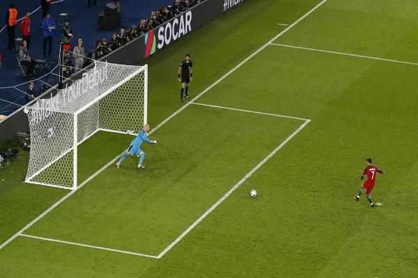 رونالدو يهدر ركلة جزاء ويحرم البرتغال من الفوز