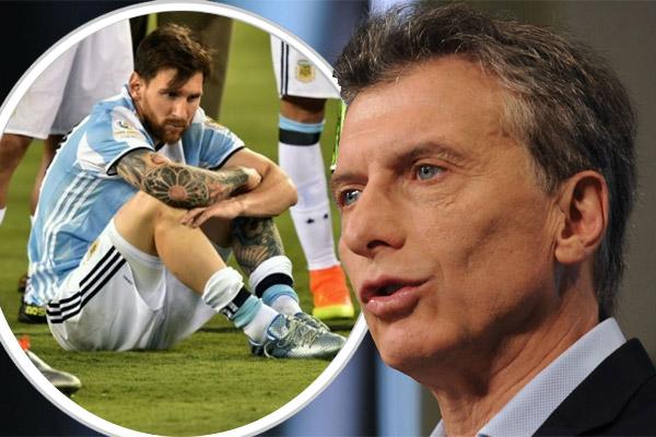 رئيس الأرجنتين يطالب ميسي بالعدول عن قرار اعتزاله دولياً
