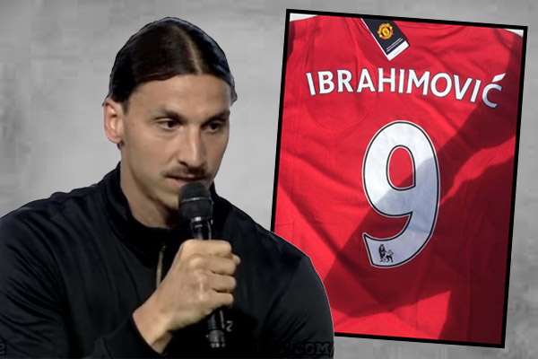 إبراهيموفيتش يعلن أخيراً انضمامه إلى مانشستر يونايتد