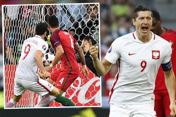 ليفاندوفسكي يسجل ثاني أسرع هدف في تاريخ بطولة أمم أوروبا