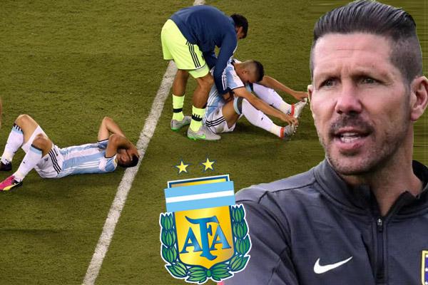 أتلتيكو مدريد يرفض التخلي عن سيميوني لصالح الأرجنتين