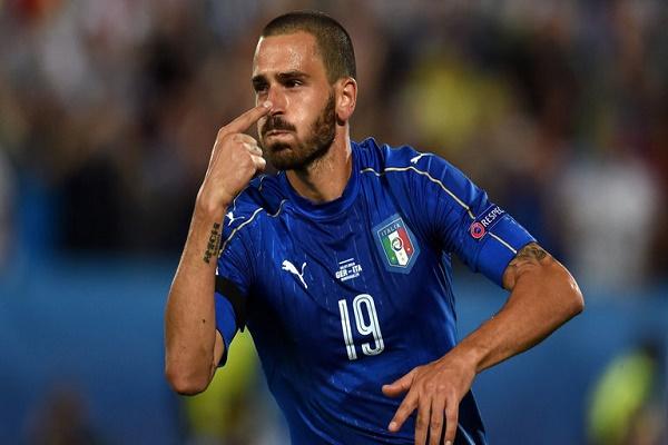 اللاعب الإيطالي ليورناردو بونوتشي