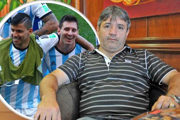 والد أغويرو يؤكد ان اعتزال ابنه الدولي مرتبط باعتزال ميسي