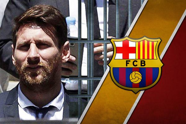 برشلونة يدافع عن ميسي بعد قرار سجنه لتهربه من الضرائب