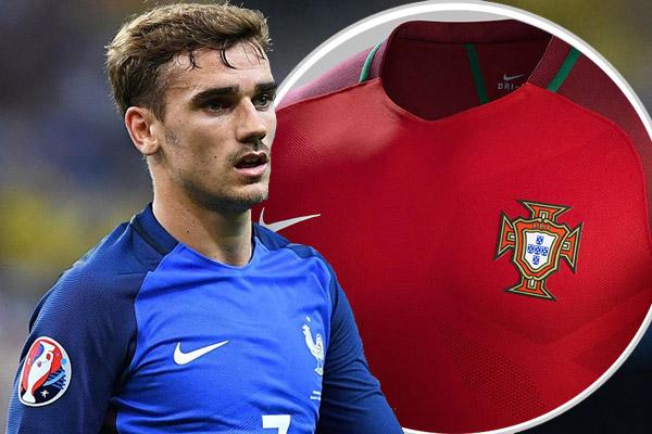 غريزمان كاد يرتدي قميص منتخب البرتغال وليس فرنسا!