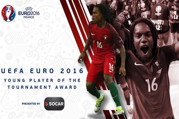 ريناتو سانشيز يتوج بجائزة أفضل لاعب شاب في بطولة أمم أوروبا