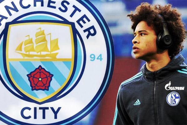 نادي مانشستر سيتي الإنكليزي اتفق مع اللاعب الألماني الشاب ليروي ساني