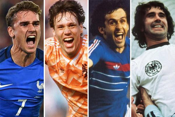 غريزمان لحق بأساطير الكرة الأوروبية