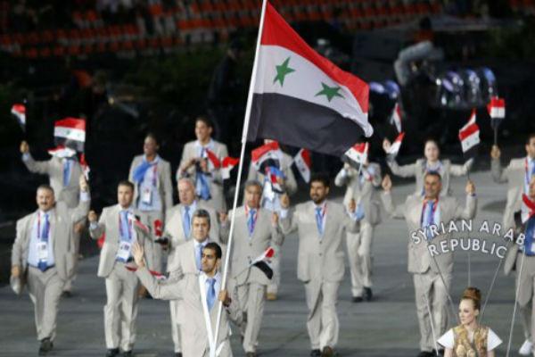 البعثة السورية في أولمبياد 2012