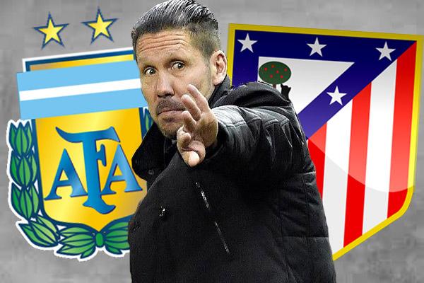 الأرجنتين تعرض على سيميوني تدريب المنتخب مع بقائه مدربا لأتليتكو مدريد