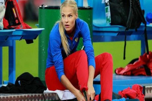 كليشينا ممثلة ألعاب القوى الروسية في أولمبياد ريو