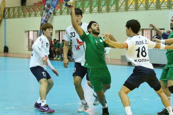 من مباراة شباب السعودية وكوريا الجنوبية