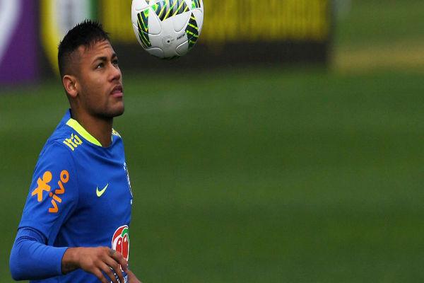 النجم البرازيلي نيمار دا سيلفا