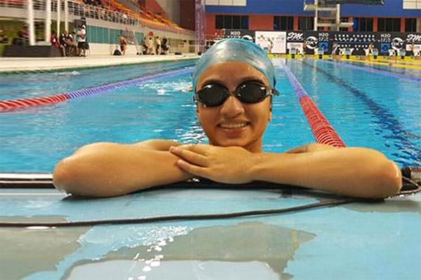 السباحة ندى البدواوي سترفع علم الإمارات في طابور عرض افتتاح اولمبياد 2016