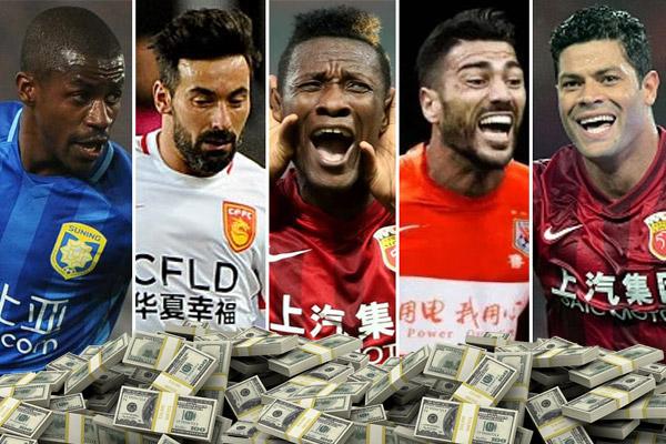 أندية الدوري الصيني جاد في منافسة الدوريات الأوروبية