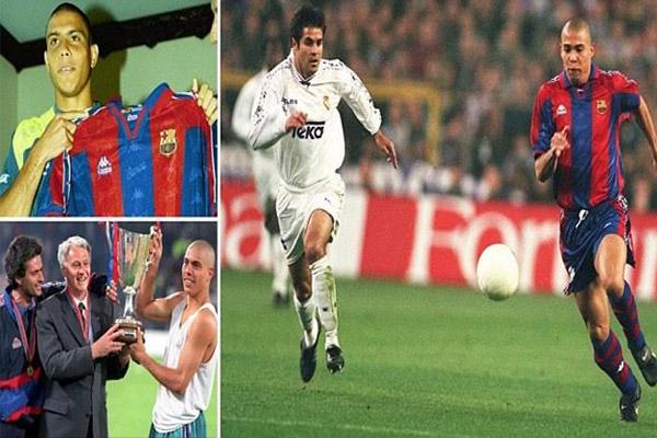 20 عاماً مرت على صفقة برشلونة التاريخية بالتعاقد مع رونالدو