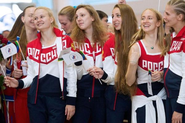 قرر رياضيو العاب القوى الروس ان يظهروا للعالم ما سيفتقده خلال دورة الالعاب الاولمبية الصيفية