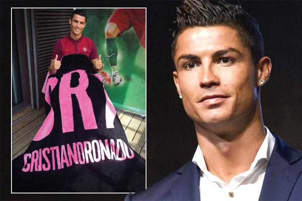 رونالدو يعرض منتوجه الجديد
