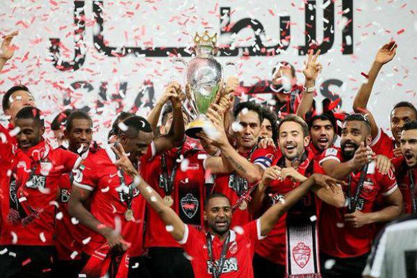 أهلي دبي بطل النسخة الأخيرة من الدوري الإماراتي