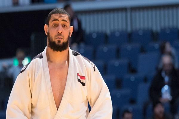 لاعب الجودو المصري اسلام الشهابي