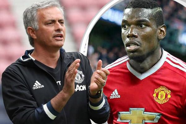 مورينيو يؤكد ان مانشستر يونايتد سيساعد بول بوغبا على أن يصبح أفضل لاعب في العالم