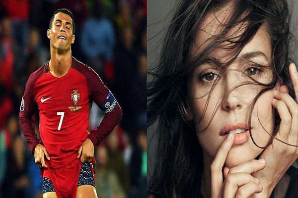 الممثلة الإسبانية الشهيرة إيلينا انايا تهاجم رونالدو