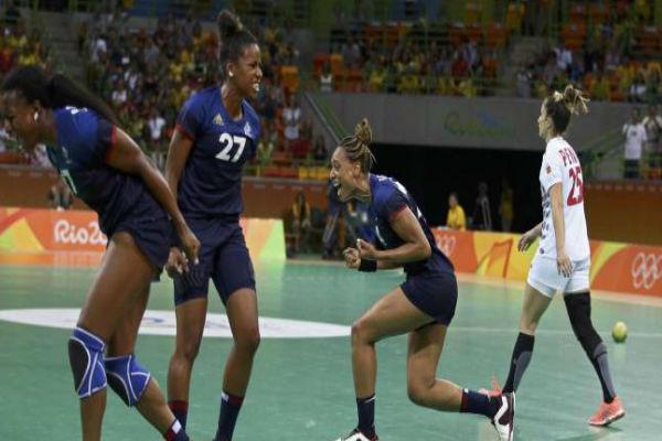 سيدات هولندا وفرنسا إلى نصف نهائي كرة اليد